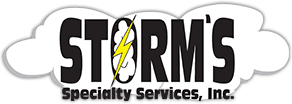 Storms Storage Containers Logo
